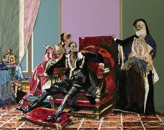 La mort de Charles IX